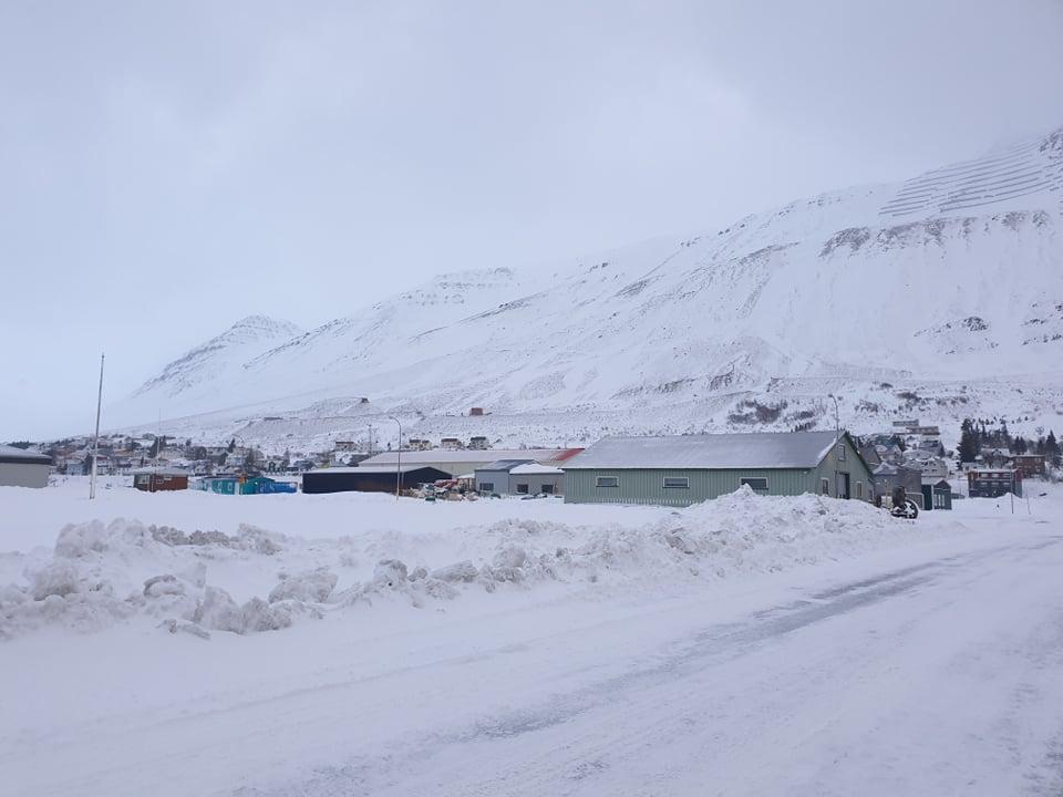 Norðurland: Rýmingu aflétt á Siglufirði